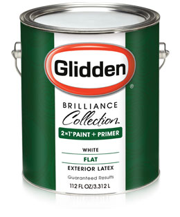 Glidden Brilliance Collection Paint Primer Flat