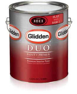 Glidden Duo Paint Primer Flat