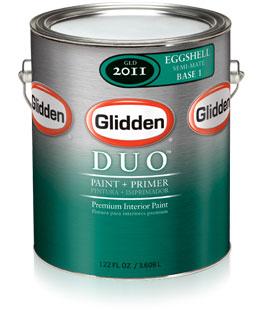 Glidden Duo Paint Primer Eggshell
