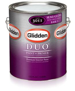 Glidden Duo Paint Primer Semi Gloss