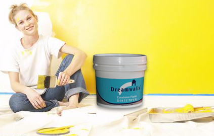 Dreamwalls Emulsion Finish Distemper